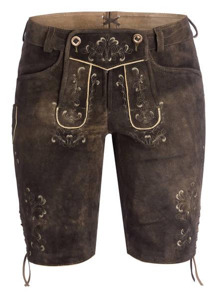 Spieth & Wensky Trachten-Lederhose, Farbe: BRAUN (Bild 1)