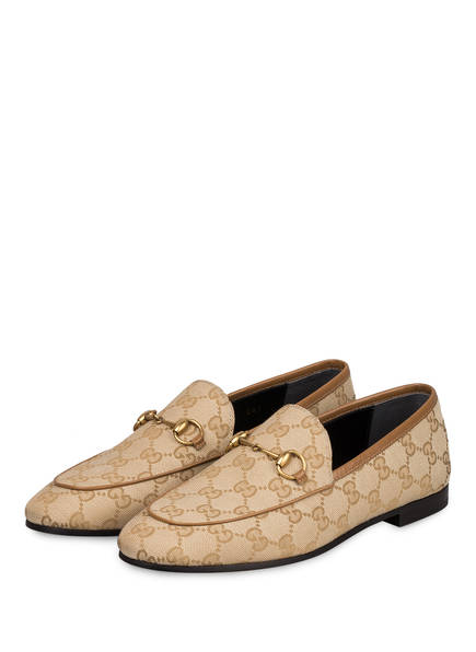 GUCCI Loafer JORDAAN, Farbe: NEW SAND/ FRIKY TAUPE	 (Bild 1)