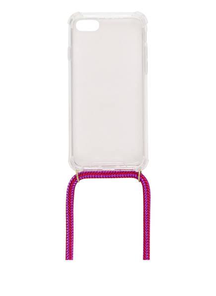 xouxou Smartphone-Hülle XOUXOU, Farbe: TRANSPARET/ LILA (Bild 1)
