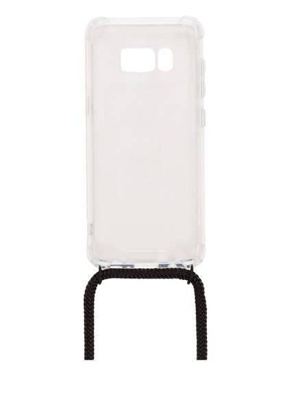xouxou Smartphone-Hülle, Farbe: TRANSPARENT/ SCHWARZ (Bild 1)