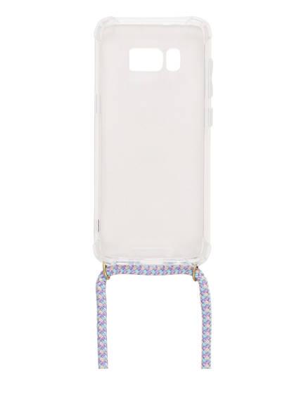 xouxou Smartphone-Hülle, Farbe: TRANSPARET/ HELLBLAU (Bild 1)