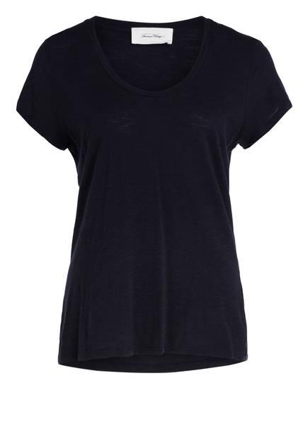American Vintage T-Shirt JACKSONVILLE, Farbe: DUNKELBLAU (Bild 1)
