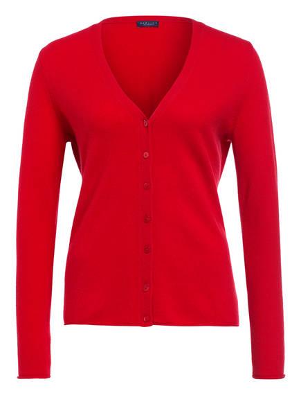 DARLING HARBOUR Cashmere-Strickjacke , Farbe: ROT (Bild 1)