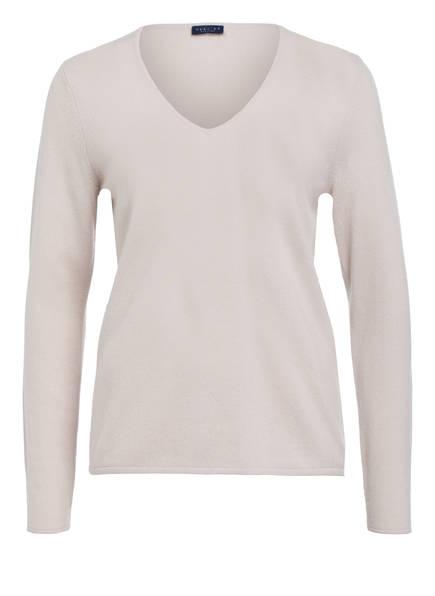 DARLING HARBOUR Cashmere-Pullover , Farbe: CREME (Bild 1)