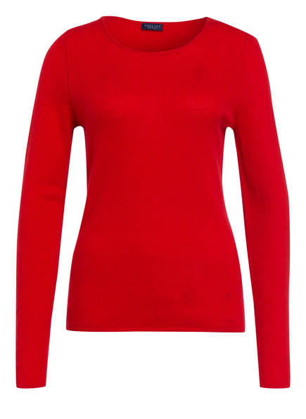 DARLING HARBOUR Cashmere-Pullover, Farbe: ROT (Bild 1)