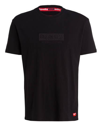 Superdry T-Shirt INTERNATIONAL, Farbe: SCHWARZ (Bild 1)