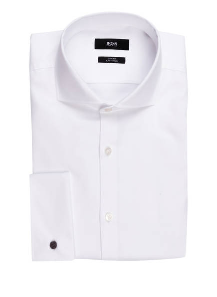 BOSS Smoking-Hemd JAIDEN Slim Fit, Farbe: WEISS (Bild 1)