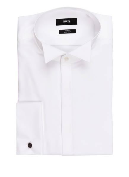 BOSS Smoking-Hemd JILIK Slim Fit, Farbe: WEISS (Bild 1)