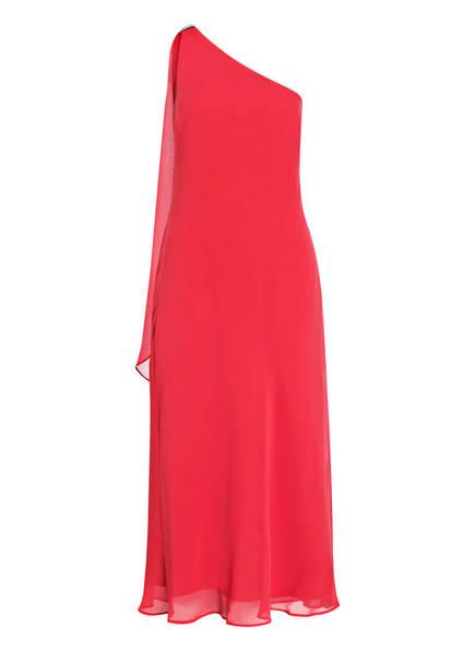 LAUREN RALPH LAUREN One-Shoulder-Kleid DUNBAR mit Schmuckbesatz, Farbe: DUNKELROSA (Bild 1)