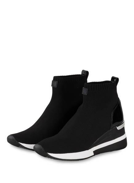 MICHAEL KORS Hightop-Sneaker SKYLER, Farbe: SCHWARZ (Bild 1)
