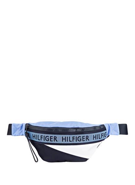 TOMMY HILFIGER Gürteltasche, Farbe: DUNKELBLAU/ HELLBLAU/ WEISS (Bild 1)