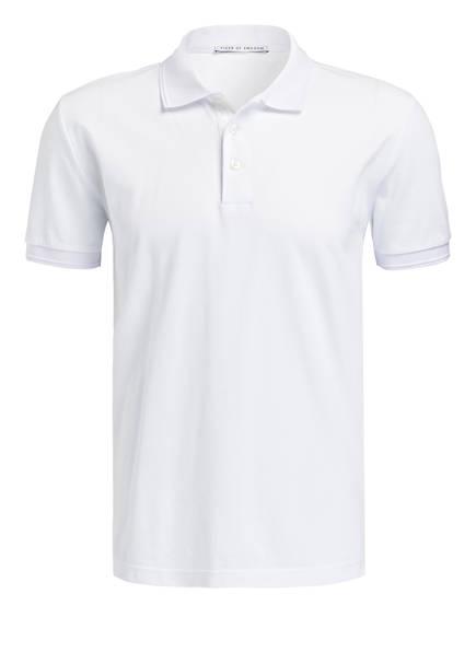 TIGER of Sweden Piqué-Poloshirt DARIOS Regular Fit, Farbe: WEISS (Bild 1)