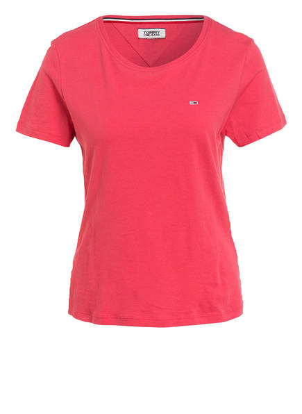 TOMMY JEANS T-Shirt, Farbe: HELLROT (Bild 1)