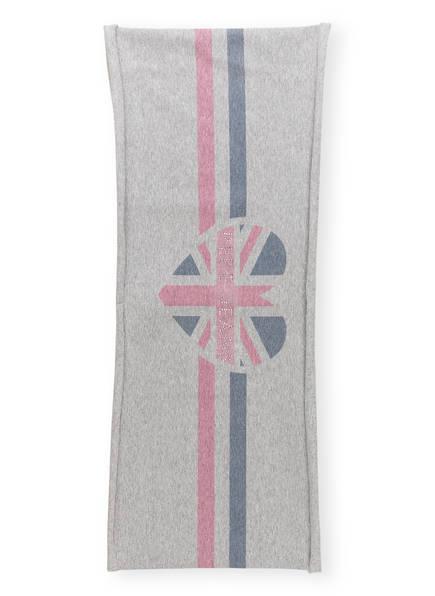 Pepe Jeans Loop-Schal mit Schmucksteinbesatz, Farbe: GRAU (Bild 1)