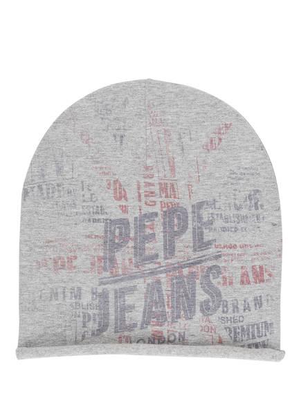 Pepe Jeans Mütze, Farbe: HELLGRAU MELIERT (Bild 1)