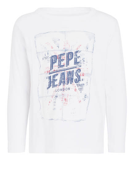 Pepe Jeans Longsleeve CESAR, Farbe: WEISS (Bild 1)