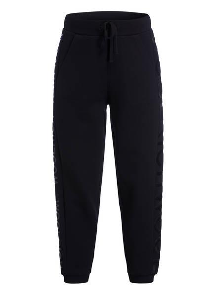 WOOLRICH 7/8-Sweatpants BONDED, Farbe: SCHWARZ (Bild 1)