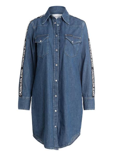 Calvin Klein Jeans Jeanskleid, Farbe: SIDE STRIPE LOGO (Bild 1)