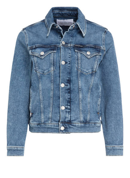 Calvin Klein Jeans Jeansjacke TRUCKER, Farbe: BLAU (Bild 1)