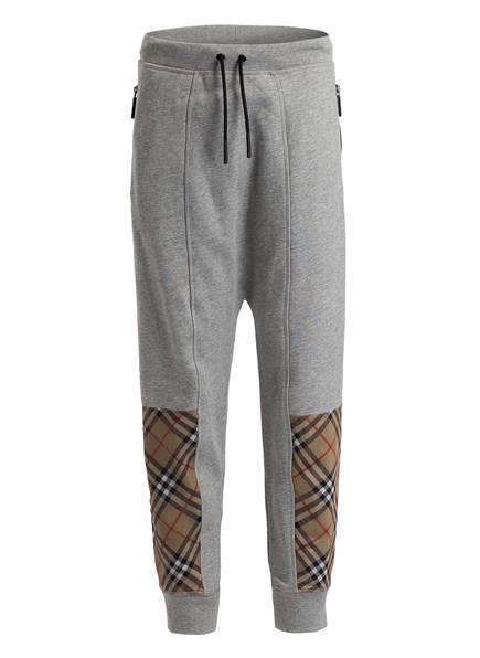 BURBERRY Sweatpants, Farbe: HELLGRAU MELIERT (Bild 1)