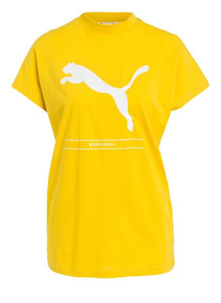 PUMA T-Shirt NU-TILITY, Farbe: GELB (Bild 1)