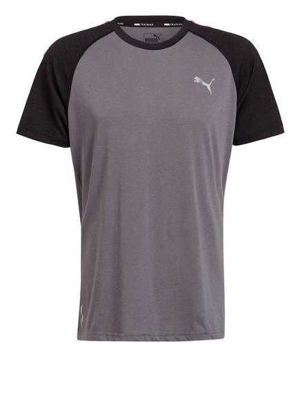 PUMA T-Shirt COLLECTIVE, Farbe: GRAU (Bild 1)