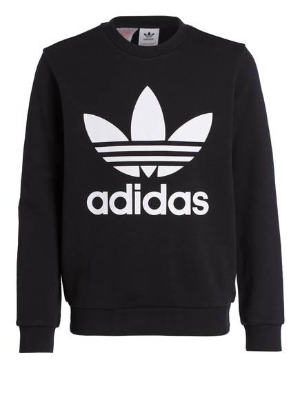 adidas Originals Sweatshirt TREFOIL, Farbe: SCHWARZ (Bild 1)