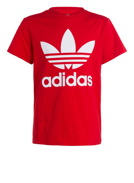 adidas Originals T-Shirt TREFOIL , Farbe: ROT (Bild 1)