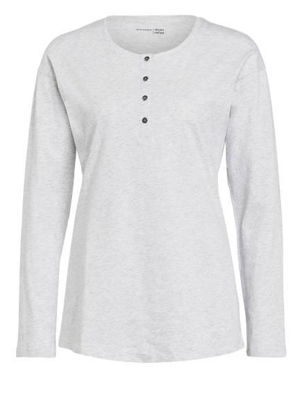 SCHIESSER Lounge-Shirt MIX+RELAX , Farbe: HELLGRAU MELIERT (Bild 1)