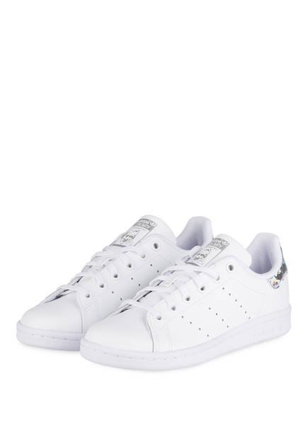 adidas Originals Sneaker STAN SMITH J, Farbe: WEISS (Bild 1)
