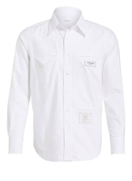 THOM BROWNE. Oxford-Hemd Straight Fit , Farbe: WEISS (Bild 1)