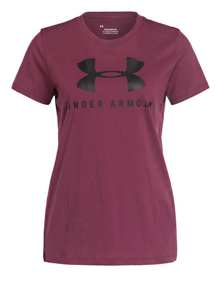 UNDER ARMOUR T-Shirt GRAPHIC SPORTSTYLE, Farbe: LILA (Bild 1)