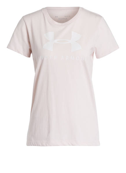 UNDER ARMOUR T-Shirt GRAPHIC SPORTSTYLE, Farbe: NUDE (Bild 1)