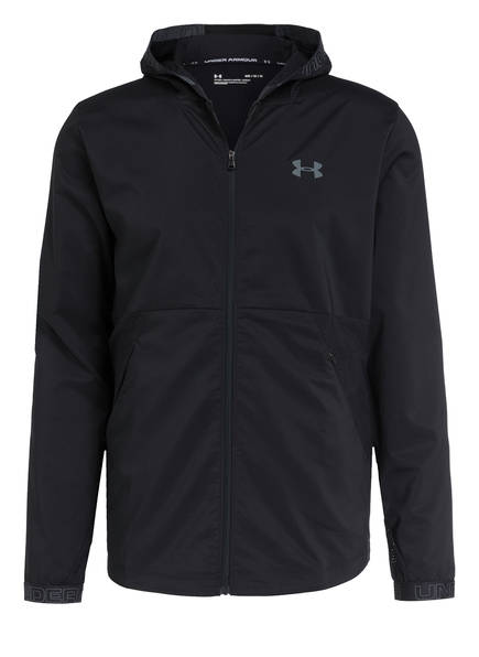 UNDER ARMOUR Trainingsjacke UA VANISH, Farbe: SCHWARZ (Bild 1)