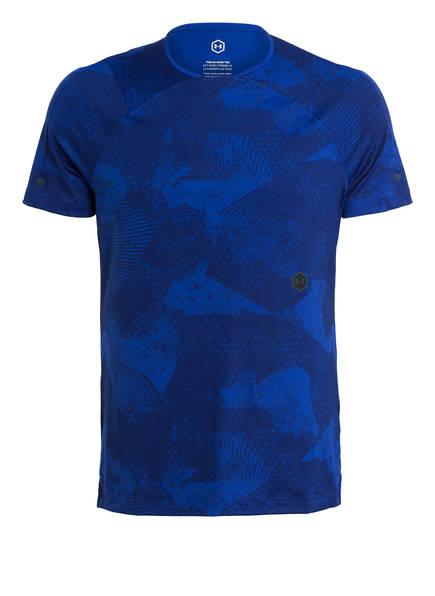 UNDER ARMOUR T-Shirt UA RUSH, Farbe: BLAU (Bild 1)