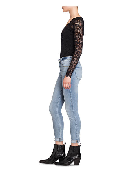 GUESS Guess 7/8-Skinny-Jeans Sexy Curve blau
