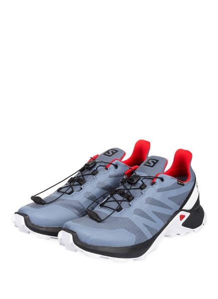 SALOMON Trailrunning-Schuhe SUPERCROSS GTX®, Farbe: GRAU (Bild 1)