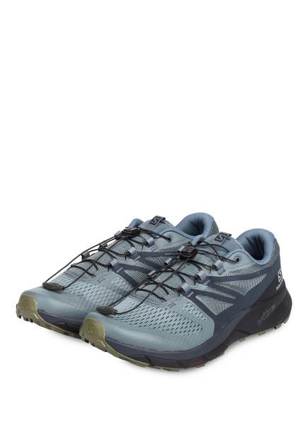 SALOMON Trailrunning-Schuhe SENSE RIDE 2, Farbe: GRAU/ KHAKI (Bild 1)