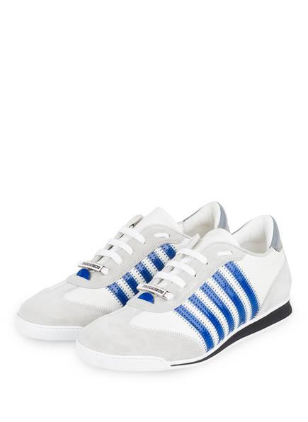 DSQUARED2 Sneaker NEW RUNNER , Farbe: WEISS/ HELLGRAU/ BLAU (Bild 1)
