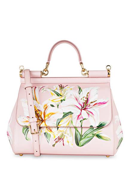 DOLCE&GABBANA Handtasche MISS SICILY MEDIUM, Farbe: ROSA (Bild 1)