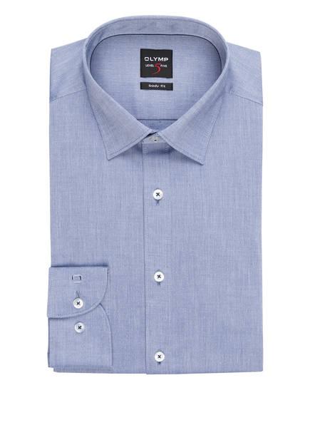 OLYMP Hemd Level Five body fit, Farbe: BLAUGRAU (Bild 1)