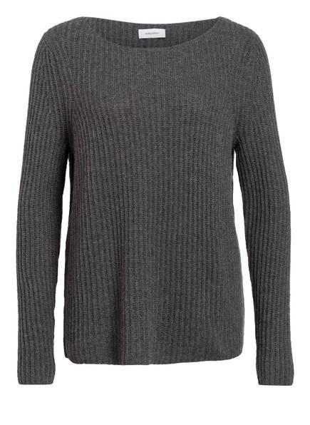 DARLING HARBOUR Cashmere-Pullover, Farbe: DUNKELGRAU MELIERT (Bild 1)