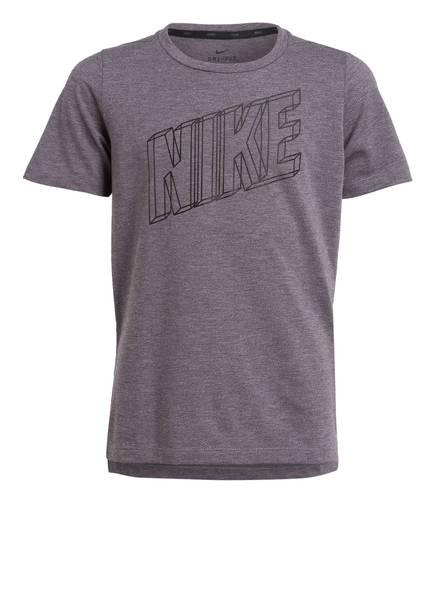 Nike T-Shirt BREATHE, Farbe: GRAU MELIERT (Bild 1)