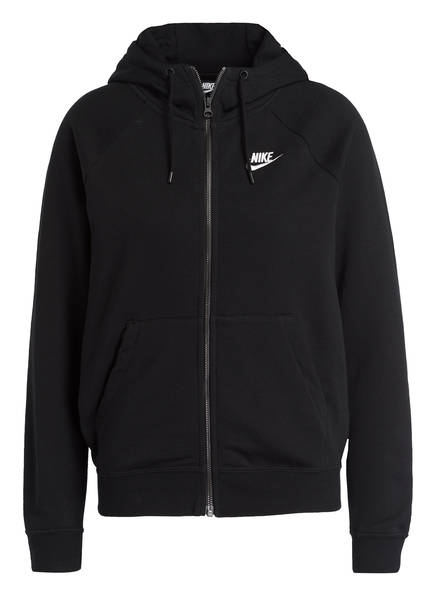 Nike Sweatjacke ESSENTIAL, Farbe: SCHWARZ (Bild 1)