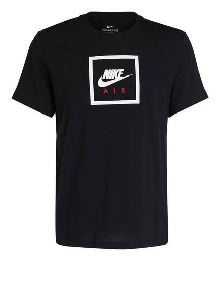Nike T-Shirt NIKE AIR, Farbe: SCHWARZ/ WEISS (Bild 1)