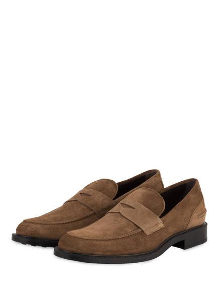 TOD'S Penny-Loafer , Farbe: BRAUN (Bild 1)