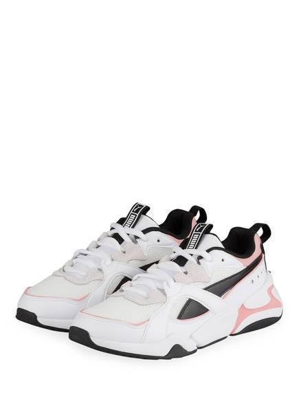 PUMA Sneaker NOVA 2 , Farbe: WEISS/ SCHWARZ/ ROSA (Bild 1)