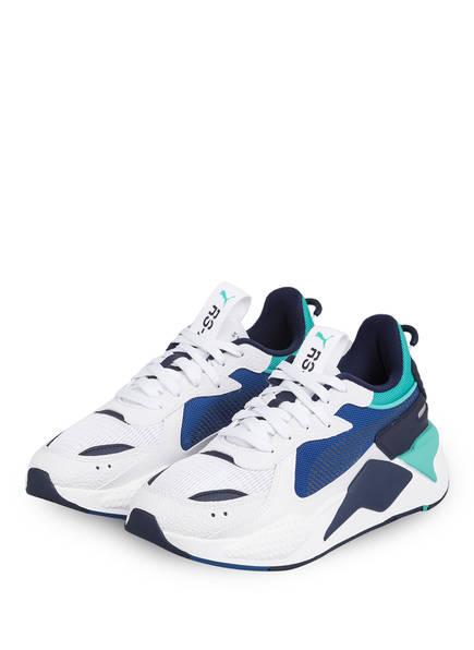 PUMA Sneaker RS-X HARD DRIVE , Farbe: HELLGRAU/ BLAU/ TÜRKIS (Bild 1)