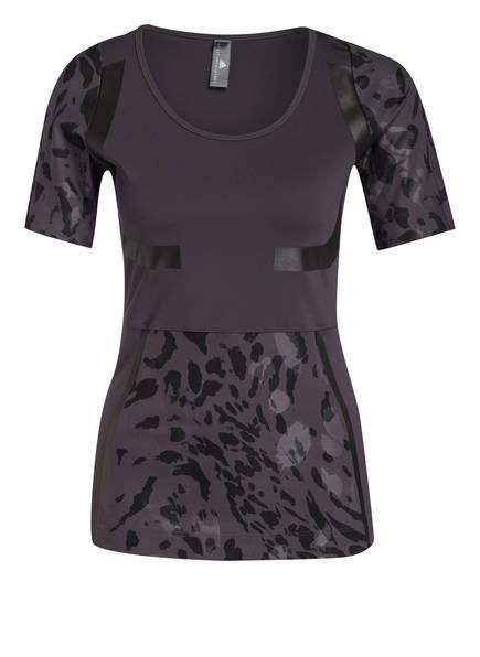 adidas by Stella McCartney T-Shirt RUN, Farbe: SCHWARZ/ GRAU (Bild 1)