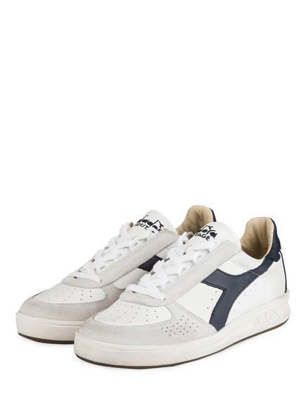 diadora HERITAGE Sneaker B.ELITE , Farbe: WEISS/ HELLGRAU/ DUNKELBLAU (Bild 1)